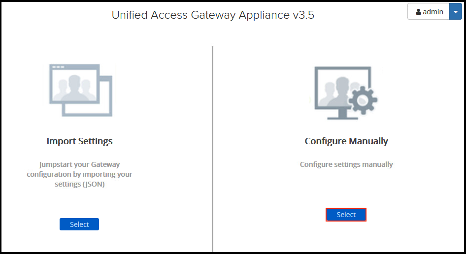 VMware Unified Access Gateway Configuration – End User